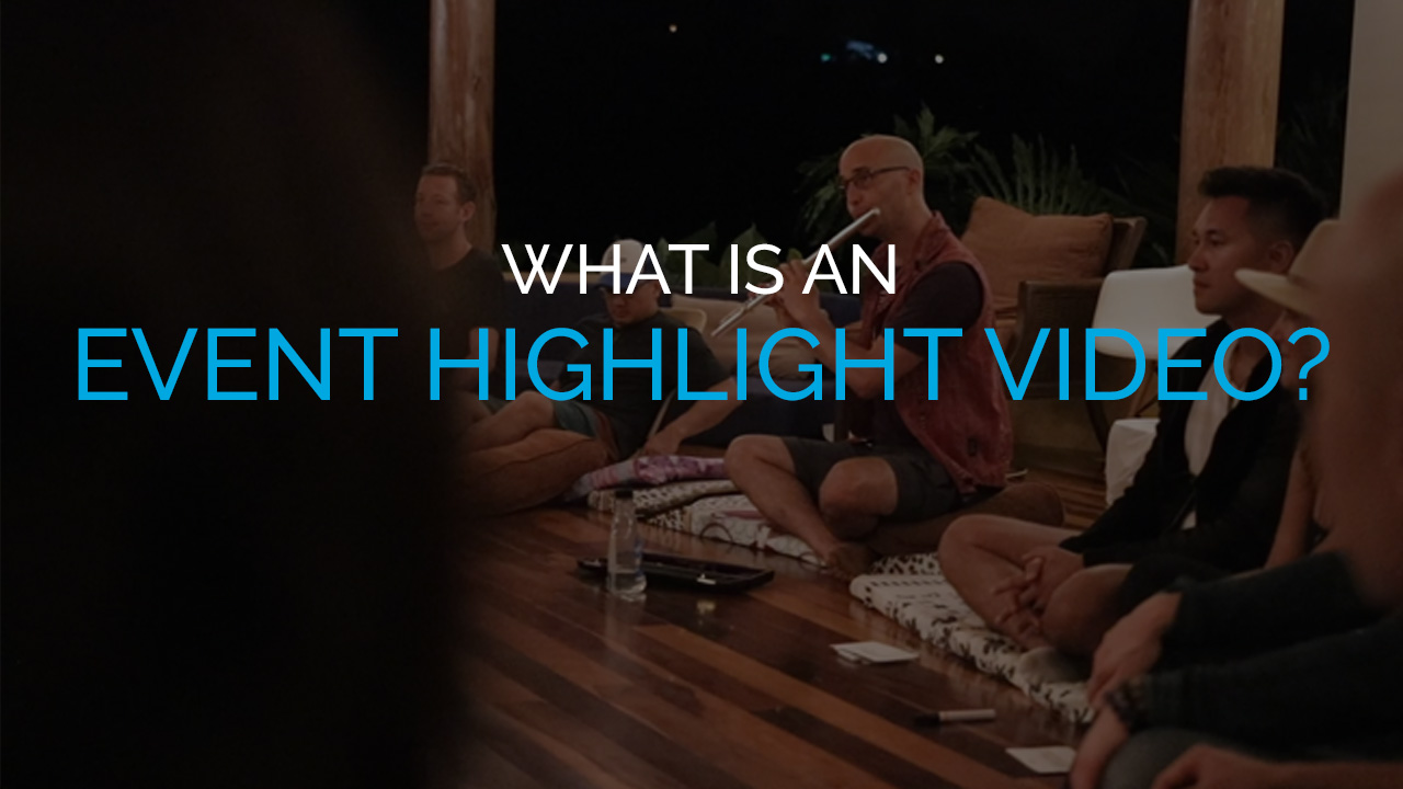 What is an Event Highlight Video?