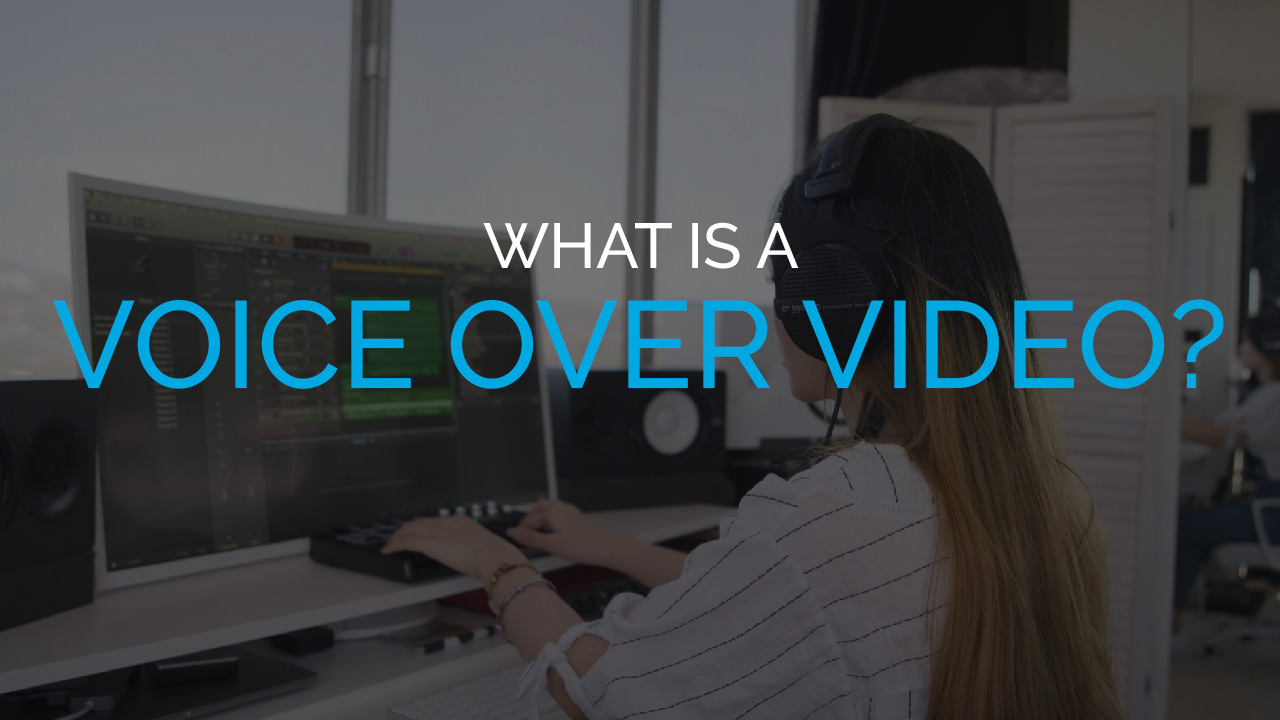 What is a Voice Over Video?